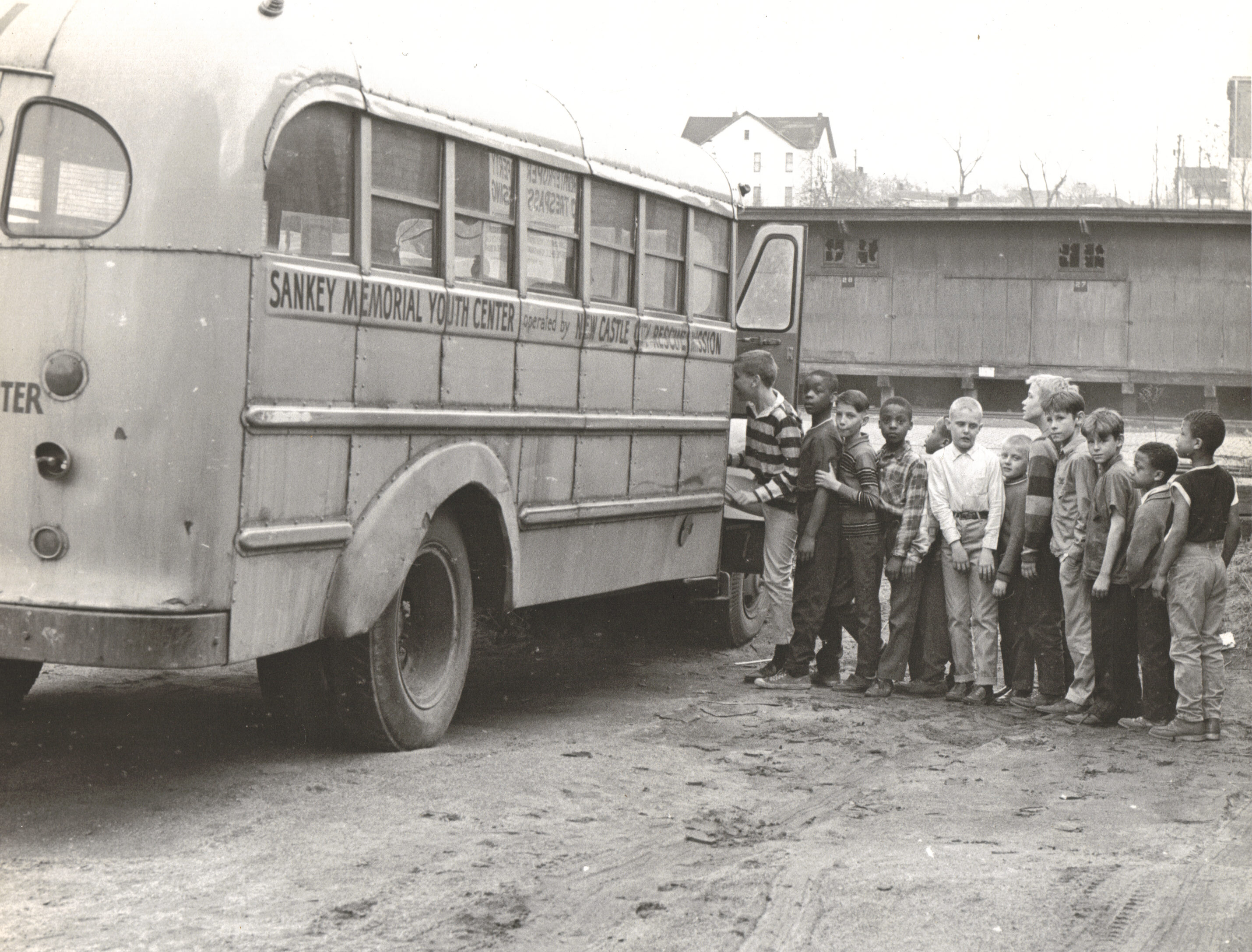Sankey School Bus